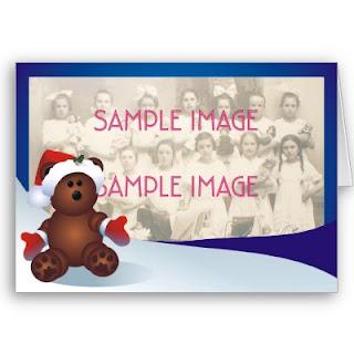 New Year Teddy Bear Cards