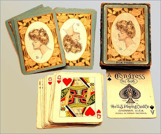 Playing Cards for New Year