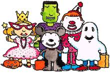 Image result for trick or treat pictures clip art