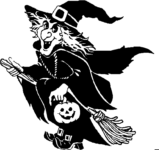 Halloween clipart black and white halloween clipart - Halloween black and white ...