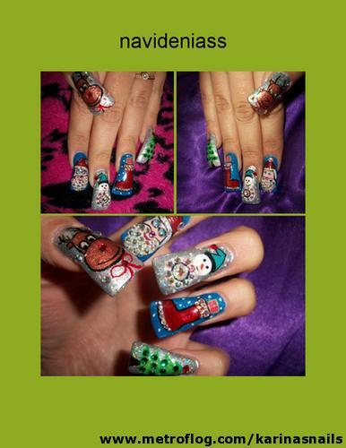 disenos de unas. disenos de unas. Diseños de uñas de navidad; Diseños de uñas de navidad
