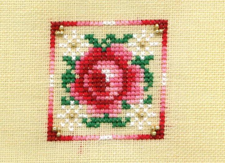 Just Nan Freebie Peppermint Rose