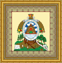 ESCUDO REPUBLICA DE HONDURAS