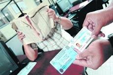 NO A LA USURPACION DE DOCUMENTOS DE IDENTIDAD POR PARTE DE CIUDADANOS EXTRANJEROS