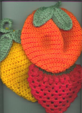 Agarraderas frutas