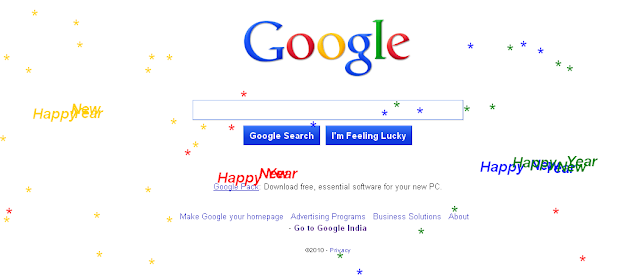 varuns scratchpad googles new year easter egg