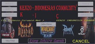 Cheat New Point Blank 27112010 Kenzo V1.4