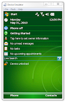 Windows Mobile 6.1 HTC HD Mini emulator Visual Studio 2005 2008