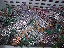 Soda Tab Bracelets.