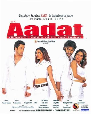 Ek Aadat Movie Songs Download free Ek Aadat MP3 Songs, Ek Aadat MP3 Hindi Songs