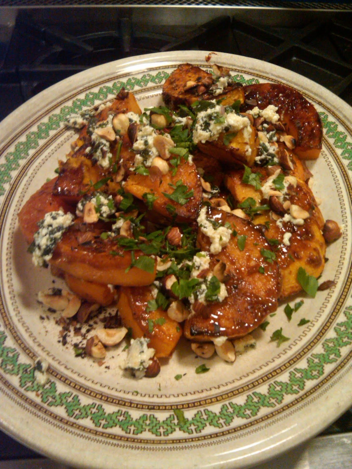 Legend in his own lunchtime: Caramelized butternut squash ...