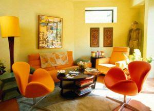 warna cat rumah on ... warna cat kuning, oranye, atau merah bata, yang bersifat mendinginkan