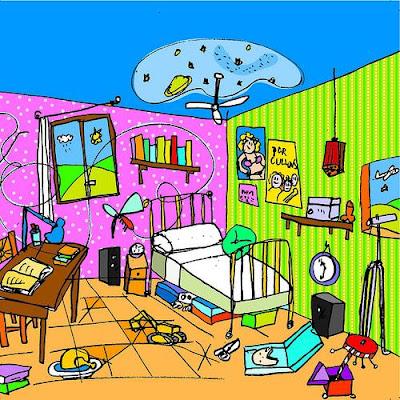 Ireeneee d noviembre 2009 for Cuarto ordenado animado