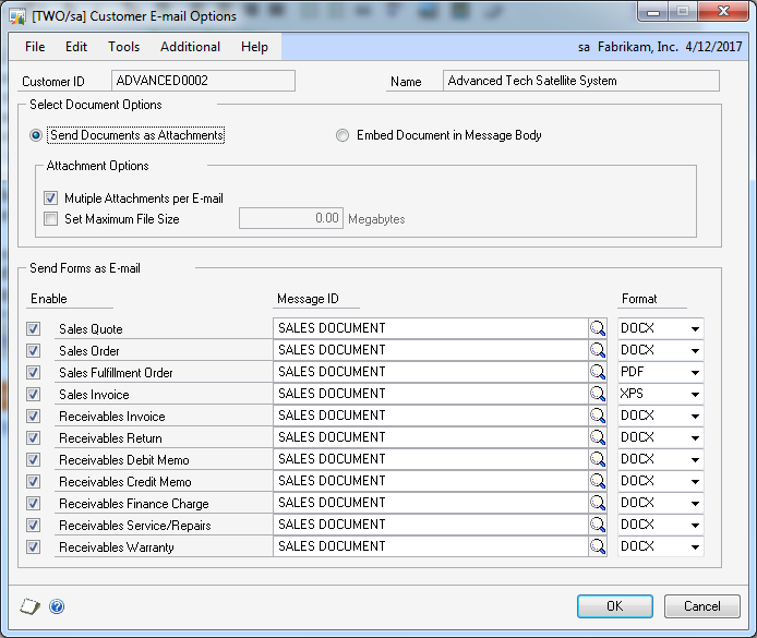 how to make an invoice on word