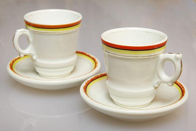 Чашка для кофе фарфор Франция Париж 19 век XIX
