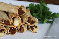 {baked} Chipotle Beef Taquitos