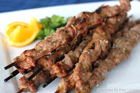 Orange Thai Beef Skewers