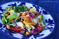 Thai Peanut Noodle Salad