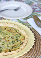 Zucchini Cheese Quiche