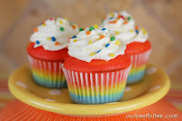 Colorburst Cupcakes