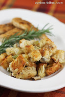 Artichoke Parmesan Sourdough Stuffing {Or &#8220;Dressing&#8221; actually!}