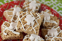 Gingerbread Rice Crispy Treats