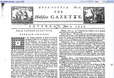 Halifax Gazette