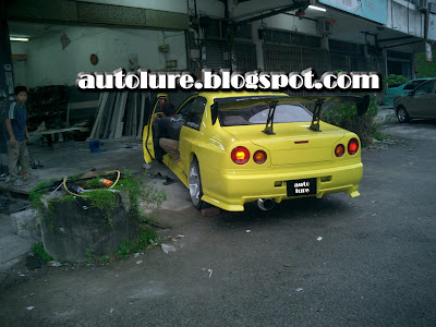 Skyline R34 Blue. Nissan Skyline R34 should