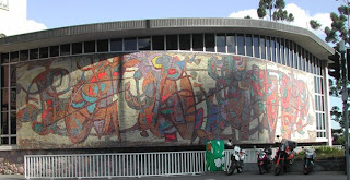 Former State Library of Queensland Mural