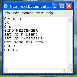 Microsoft Windows Xp Notepad Default