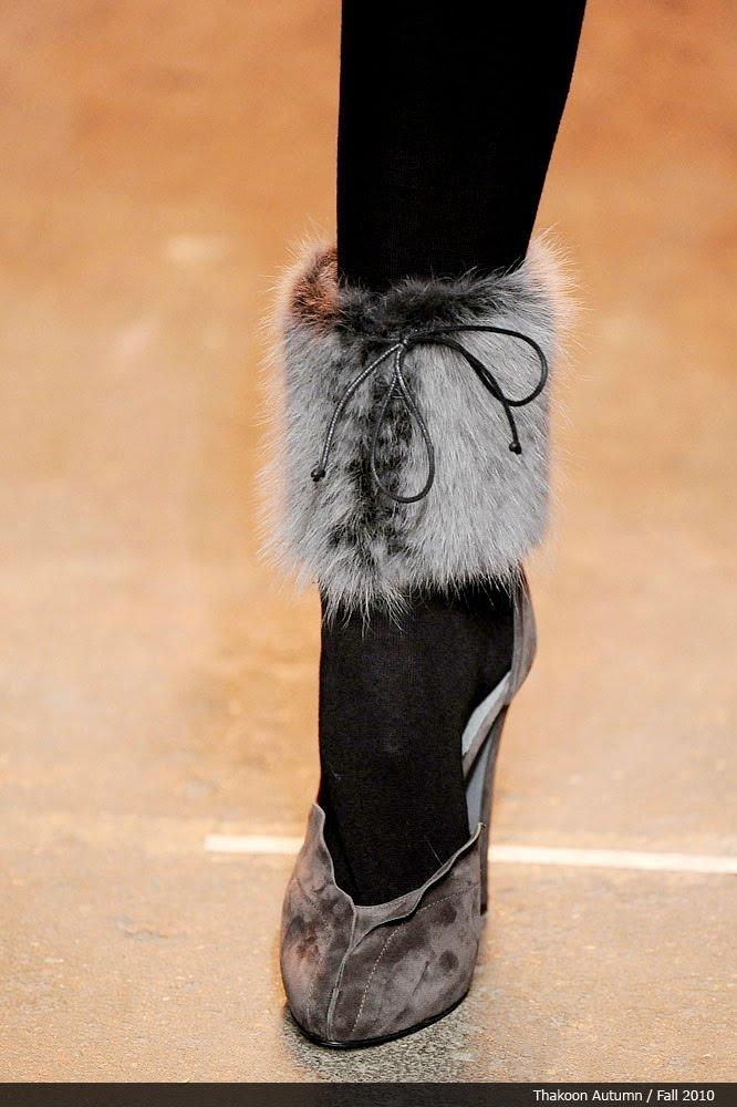 Декор зимней обуви своими руками