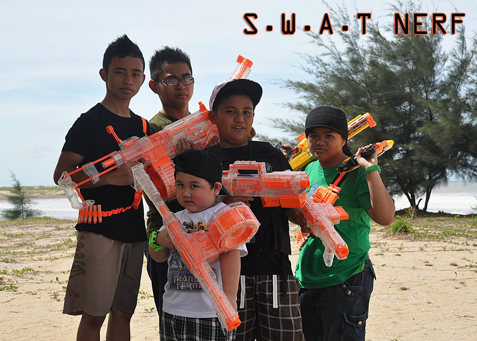 THE 984 FAMILY UNITED: 984 NERF SQUAD