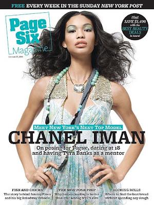 chanel iman and tyga dating. Chanel Iman covers Page Six