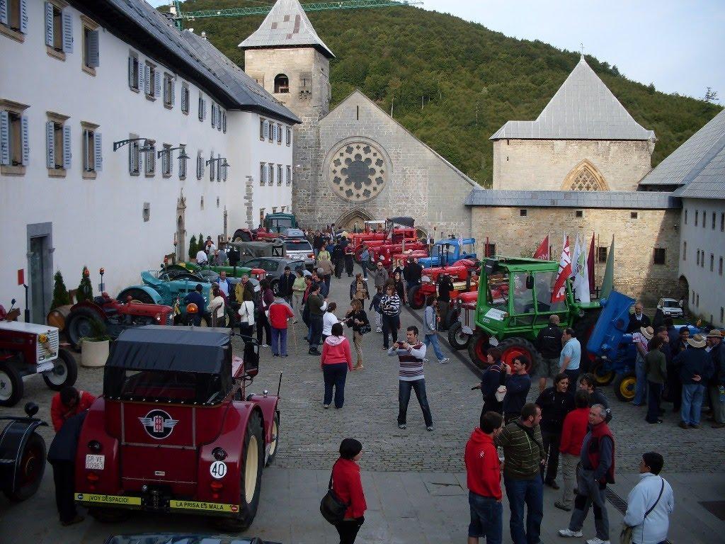 Camino Santiago en Tractor