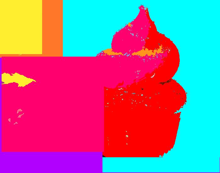 im winning Cupcake+colors
