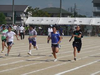 50メートル走 第37回町民体育大会