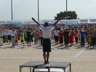 ラジオ体操 第37回町民体育大会