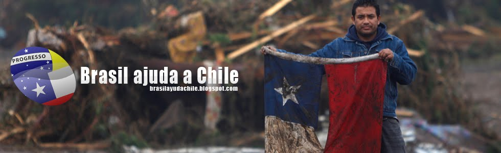 Ayuda a Chile en Brasil