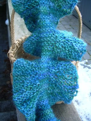 Polly Foo Foo: Current WIP - Ruffle Scarf Pattern