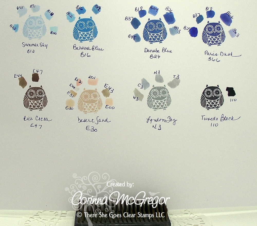 Corinna color matching su ctmh and memento inks with copics 19 january 2011 nvjuhfo Image collections