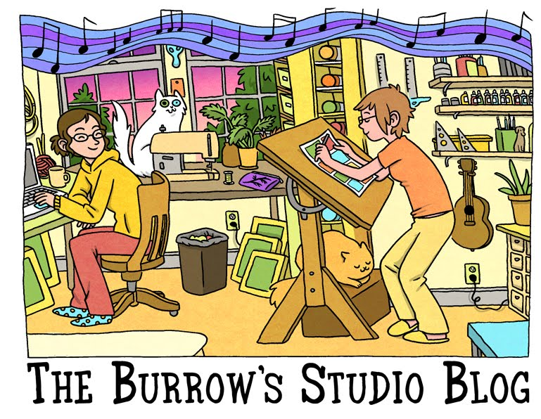 The Burrow's Studio Blog
