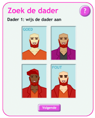 spel wie is de dader