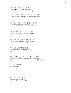 Lady antebellum guitar chords