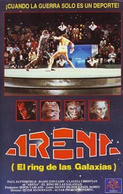 Arena, el ring de las galaxias dirigida por Peter Manoogian