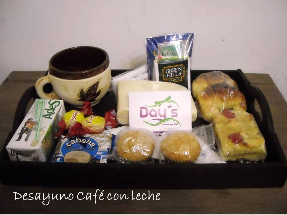 Day s desayunos aniversarios y sorpresas desayunos for Tazas cafe con leche