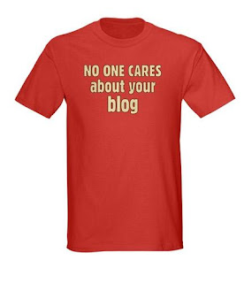 Nobody cares about your blog.