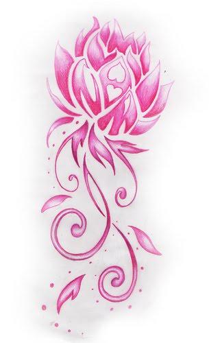 Lotus Flower Tattoo Design Lotus Flower Tattoo Design