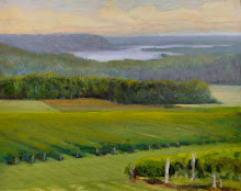Keuka Lake and Vineyard