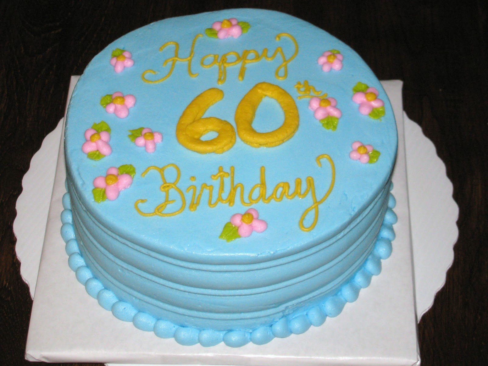 60th+birthday+cake