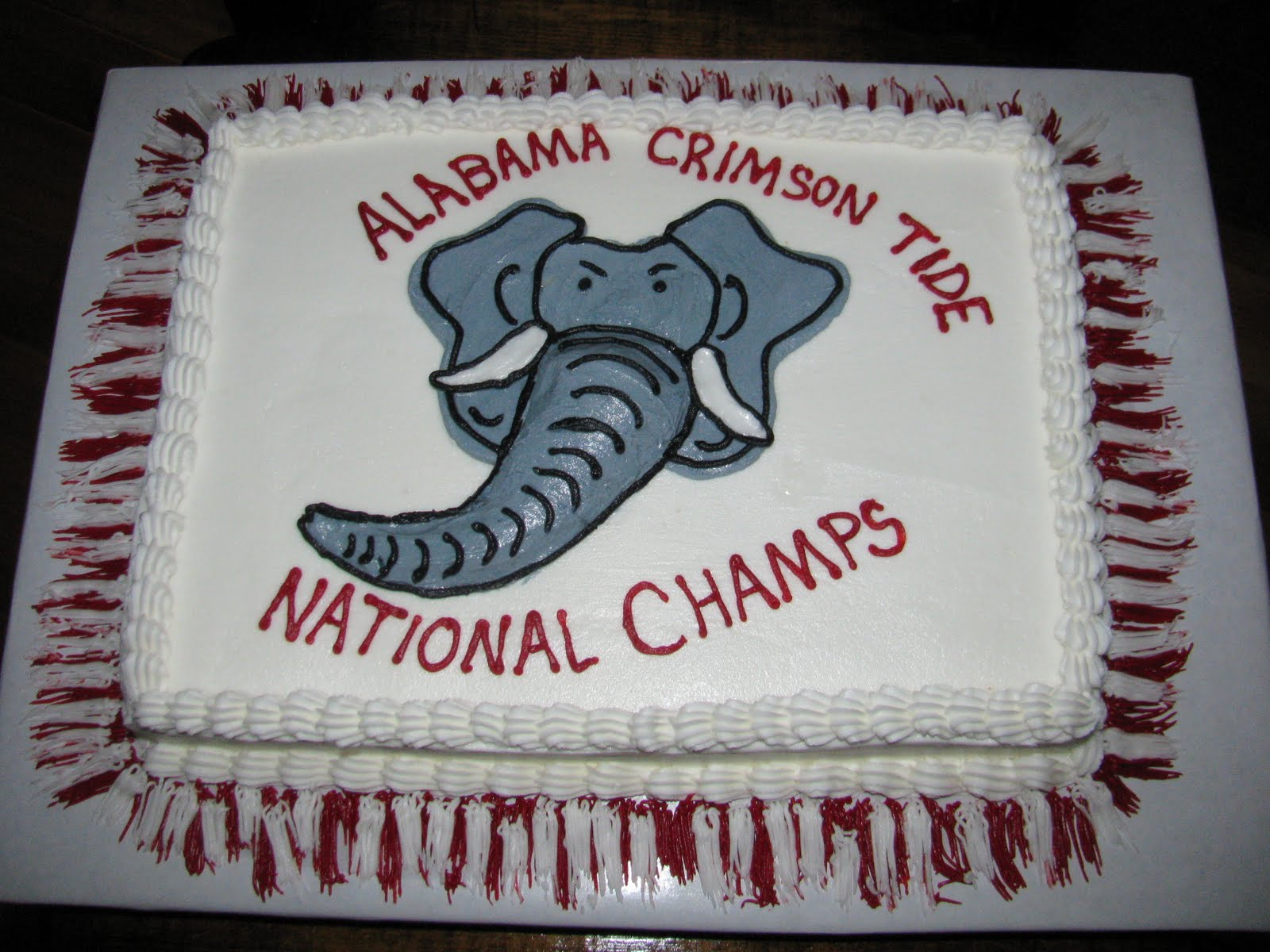 The Dessert Box Alabama Crimson Tide